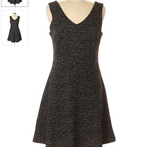 Katherine Barclay Fit and Flare Black Dress